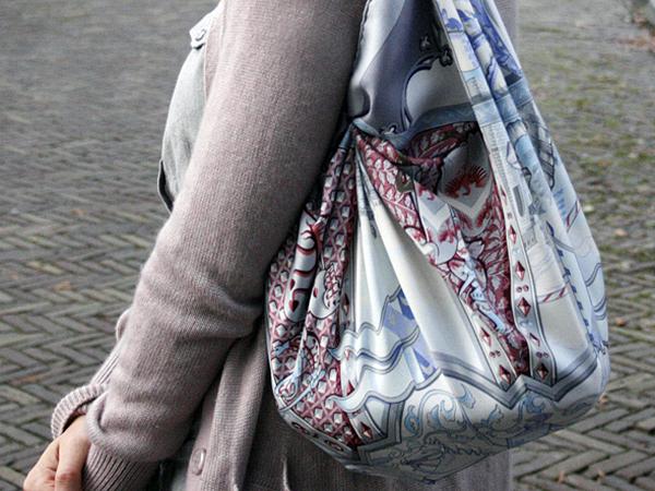 Hermes La Vie a Cheval scarf bag
