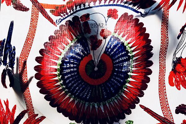 Hermes Brazil shawl
